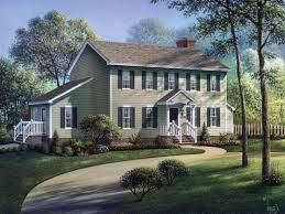 One Story Colonial House Plans New Colonial House Plans Home Design And Style