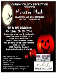 monster mash halloween monster mash asa girls fastpitch tournament