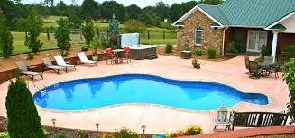 pool patio and spa home design ideas and pictures