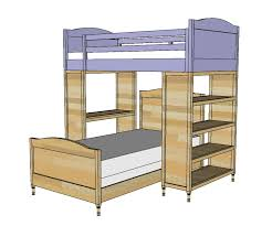 Plans For Building Bunk Beds by Ana White Chelsea Top Bunk Diy Projects