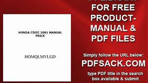 honda civic 2001 manual price video dailymotion