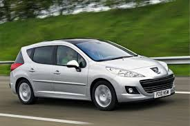 cheap peugeot peugeot 207 sw 2007 car review honest john
