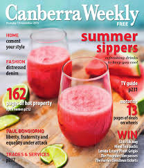 19 november 2015 by canberra weekly magazine issuu