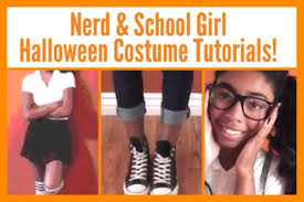 schoolgirl halloween costume easy halloween costumes nerd u0026 youtube