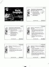 mr e u0027s world geography page world geography chapter 26 the