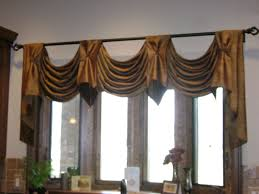 make your interior to be more delightful with half curtain rod