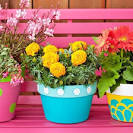22 Creative Outdoor Decor Ideas with Colorful Summer Flowers and ...