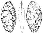La Quina - a Neanderthal site with thick asymmetric tools