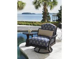 Tommy Bahamas Chairs Tommy Bahama Outdoor Living Alfresco Living Black Pineapple Table