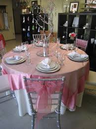 Silver Centerpieces For Table Pink And Silver Wedding Decorations The Wedding Specialiststhe