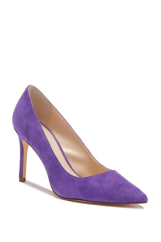 Charles David Denise Pumps Evening Stilettos Purple 7 Medium (B,M)