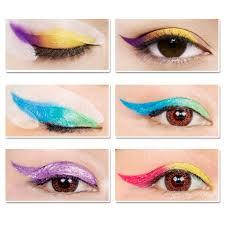 aliexpress com buy lanbena rainbow party fashion wing eye liner