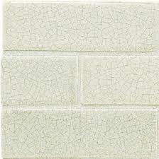 Does This Backsplash Look Right In My Kitchen - Crackle subway tile backsplash