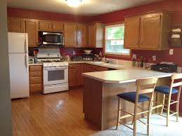 Best Kitchen Cabinet Paint Colors by Light Oak Kitchen Cabinets 8588 Baytownkitchen