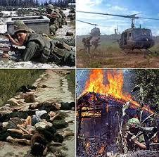 La guerre du Vietnam.1961 à 1975