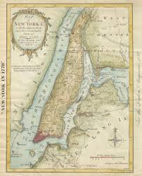 Map New York City by New York Map Society Home Page