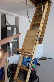 diy attic storage assistance attic ladder attic storage and pulley