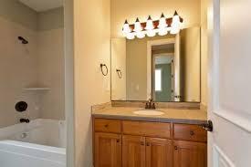 bathroom vanity with over mirror lighting interiordesignew com
