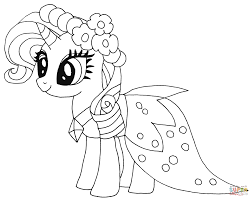 my little pony princess coloring pages my little pony coloring
