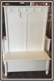 White Entryway Table by Furniture Appealing Hall Tree Storage Bench For Home Furniture