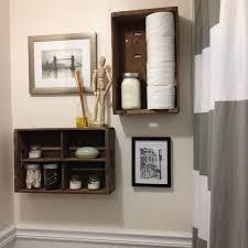 Bathroom Shelving Ideas by Diy Bathroom Shelving Ideas Light Brown Maple Wood Storage Cabinet