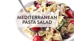 Pasta Salad Ingredients Mediterranean Pasta Salad Gimme Some Oven