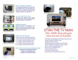 How Much To Wall Mount A Tv Stan The Tv Man Stanthetvman Twitter