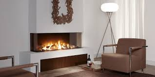 Propane Fireplaces North Bay Ontario by Trisore140 Modern 3 Sided Fireplace Direct Vent Gas