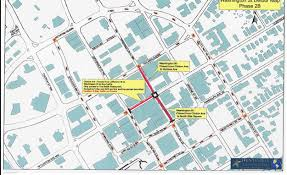 Washington Traffic Map by Road Closure Map For Washingon Street And Clinton Avenue In