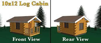 Log Cabin With Loft Floor Plans 10x12 Log Cabin Meadowlark Log Homes