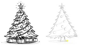 good drawing pics christmas tree coloring pages wallpaper