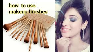how to use makeup brushes in hindi beginners special shy