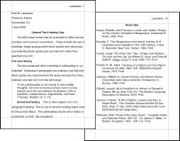 Parenthetical Citation Example  MrsTolin  th Grade Research Home