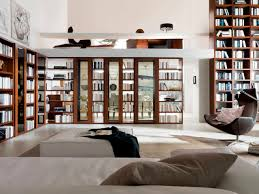 Home Design Books Home Library Furniture Amazing White Home Library Design With