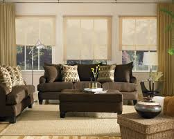 living room ideas brown sofa curtains home decoration ideas