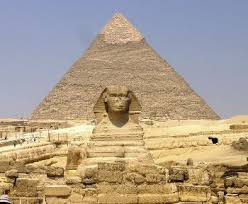 Today  tourists visit the Great Sphinx and Egyptian pyramids for a glimpse of what life was like in ancient Egypt