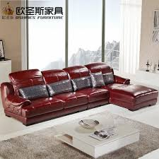 modern design sofa online get cheap modern red leather sofa aliexpress com alibaba