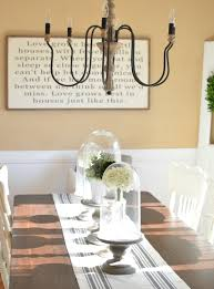 Dining Room Makeovers by Modern Farmhouse Dining Room Makeover Little Vintage Nest