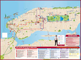 Brooklyn New York Map by Big Bus In New York