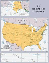 Large Map Of Usa by Large Political Map Of The United States Usa Maps Of The Usa