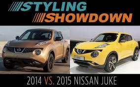 nissan juke review 2017 2014 v 2015 nissan juke styling showdown