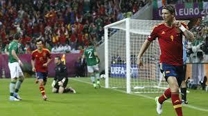 Pertandingan Grup C Spanyol vs Irlandia Euro 2012