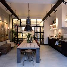 Track Lighting For Kitchens by Industrial Style Kitchen Design Ideas Marvelous Images