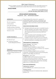 Inventory Specialist Resume Sample by Resume Sample Dance Resume What To Write In Profile Section Of