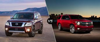 lexus v8 vs chevy v8 2017 nissan armada vs 2017 chevy tahoe