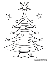 christmas tree coloring pages itgod me