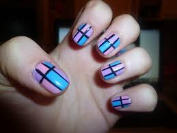emejing simple nail art designs at home videos gallery
