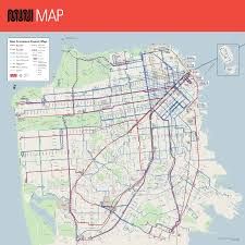San Francisco Cable Car Map by Sfmta Schedule San Francisco Municipal Transportation Agency