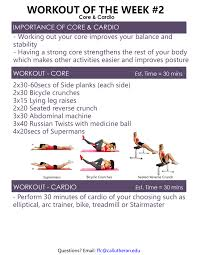 Stair Master Workout by Workout Of The Week Forrest Fitness Center Cal Lutheran