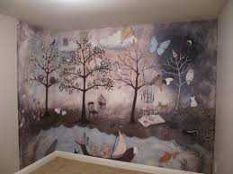 Baby Room Wall Murals by Aubree U0027s Enchanted Forest Nursery Forest Mural Project Nursery